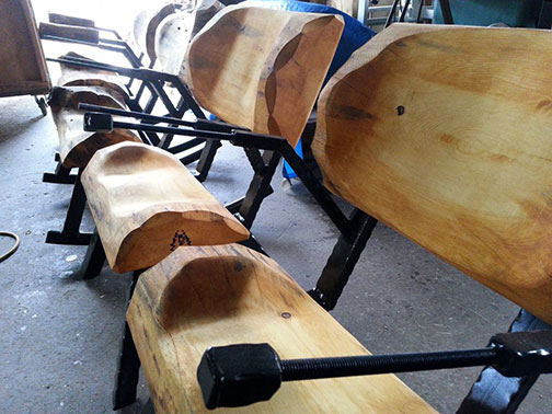 how to weld armrests