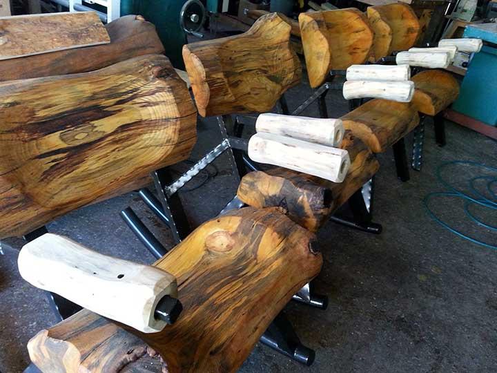 carve armrests
