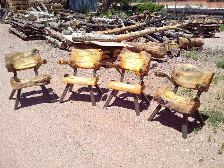 Waldo Canyon and Black Forest Wildfire Wood - Log Furniture How To