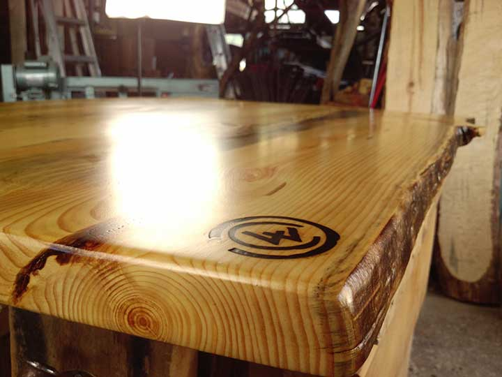 link to flared leg table blueprint
