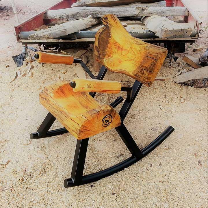 make a rocking chair rock