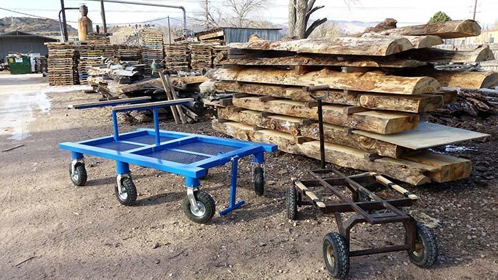 Log Dolly Yard Wagon
