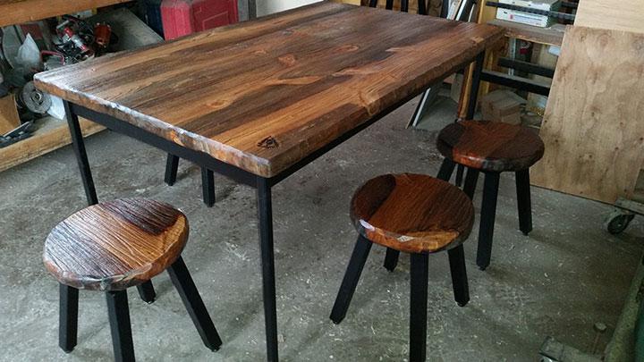 weld a dining set