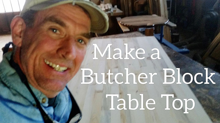 Make a Butcher Block Table Top by Mitchell Dillman