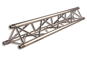 triangulated metal frame